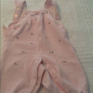 Warm overalls for 6 month old.